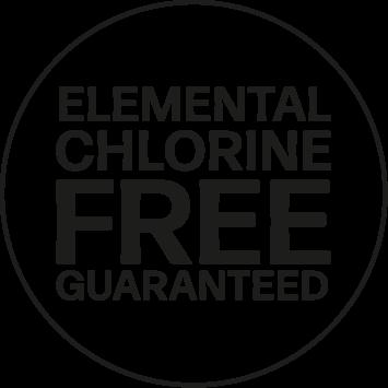 ECF (Elementhal Chlorine Free)