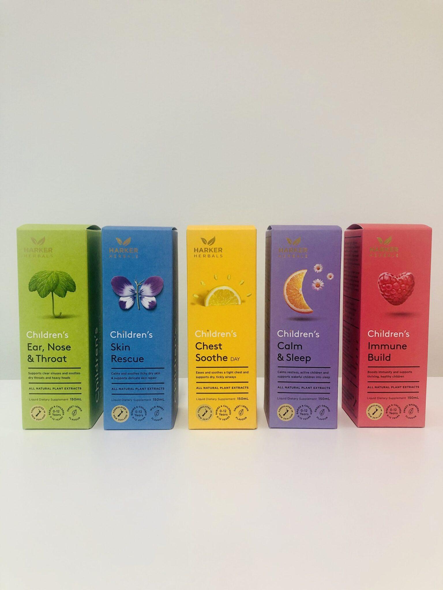 Harker Herbals Pharmaceutical Packaging