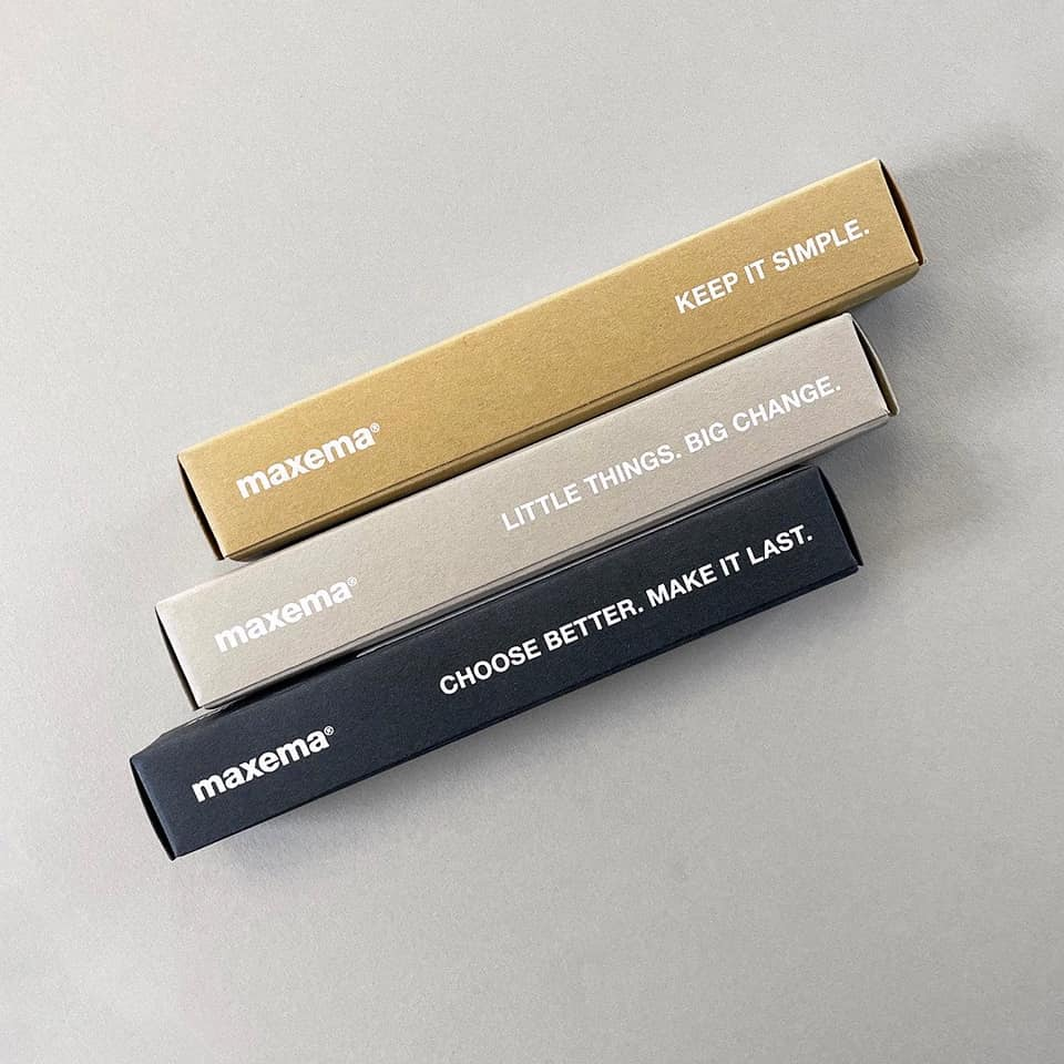 Maxema Cardboard boxes for pens