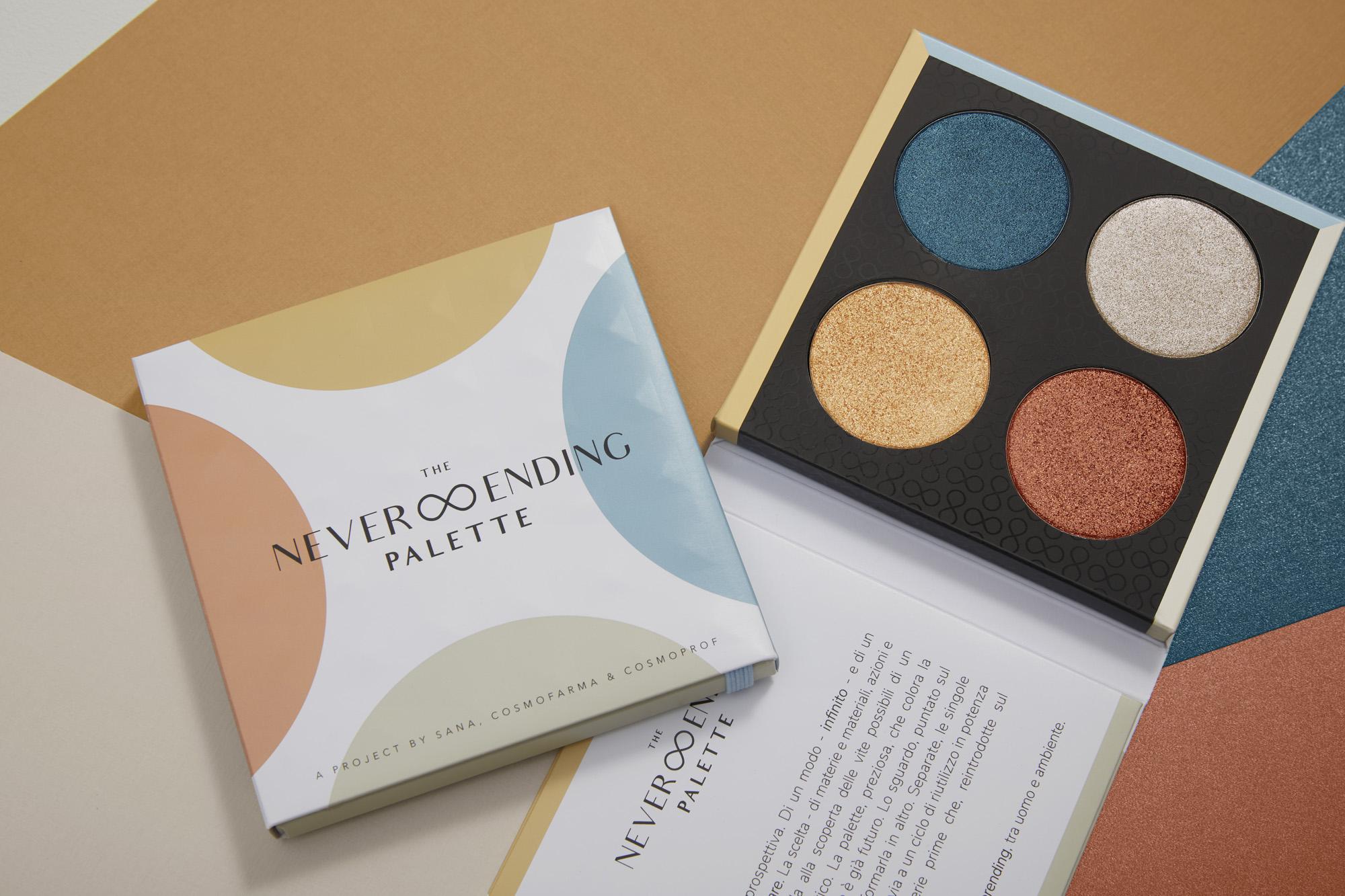 Paper Make-up Palettes