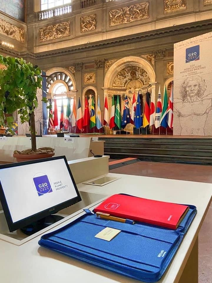 Fabriano represents the top italian manufacturing excellences during the G-20 in Florence