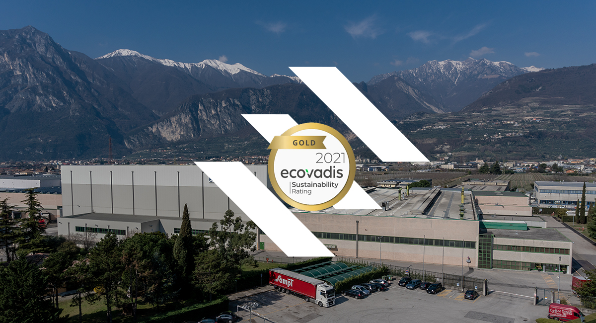 Fedrigoni Group gets the Gold Medal for sustainability from Ecovadis